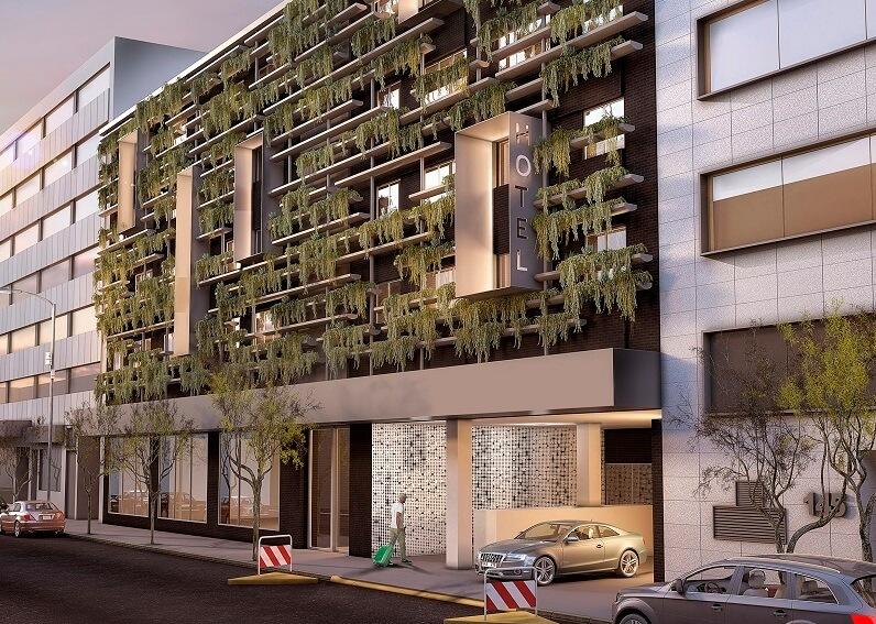 fachadas vegetales - passivhaus madrid